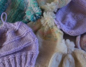 Knitting retreat projects